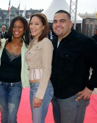 Anny Mariano, Judy Marte and Dominic Colon at the premiere of