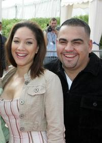 Judy Marte and Dominic Colon at the premiere of