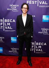 Flaco Navaja at the premiere of