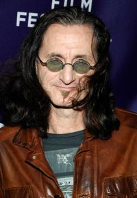 Geddy Lee at the premiere of