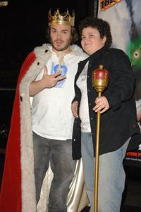 Jack Black and Troy Gentile at the premiere of