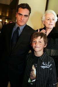 Joaquin Phoenix, Ridge Canipe and Jean Firstenberg at the AFI Fest Opening Night Gala.