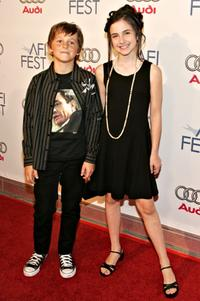 Ridge Canipe and Hailey Anne Nelson at the AFI Fest Opening Night Gala.