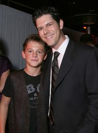 Ridge Canipe and Producer Brett Donowho at the after party of