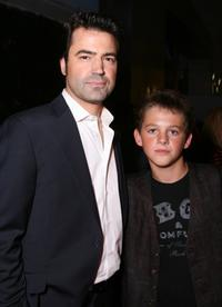 Ron Livingston and Ridge Canipe at the after party of