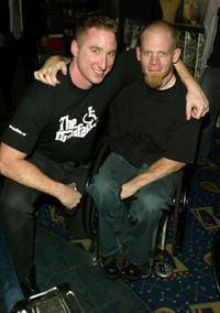 Chris Igoe and Mark Zupan at the premiere of
