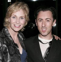 Jane Lynch and Alan Cumming at the Lambda Legal Liberty Awards.