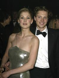 Rosamund Pike and Simon Woods at the after party of the world premiere of