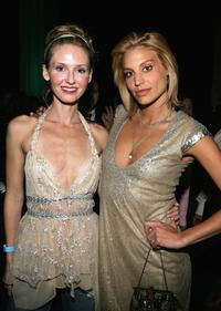 Vanessa Branch and Lisa D'Amato at the after party of America's Next Top Model Cycle 5 Finale Event.