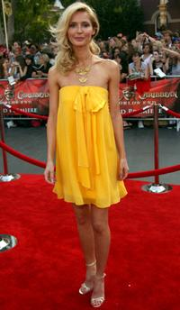 Vanessa Branch at the premiere of
