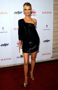 Vanessa Branch at the Maxim's 2008 Hot 100 Party.