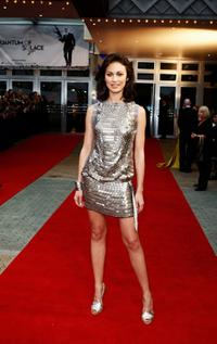 Olga Kurylenko at the Australian premiere of