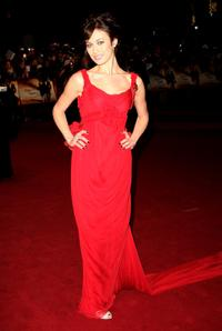 Olga Kurylenko at the Royal world premiere of