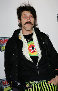 Eugene Hutz at the Shockwaves NME Awards 2007 in England.