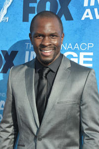 Gbenga Akinnagbe at the 42nd NAACP Image Awards in Los Angeles.