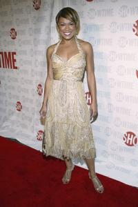 Toni Trucks at the premiere of