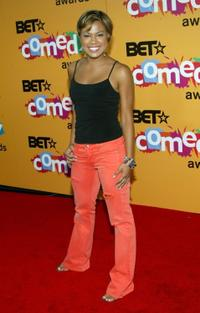 Toni Trucks at the 2005 BET Comedy Icon Awards.