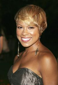 Toni Trucks at the premiere screening of