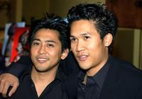 Dion and Dante Basco at the party of director John Singleton.