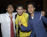 Dion Basco, Rick Gonzalez and Dante Basco at the after party of the premiere of