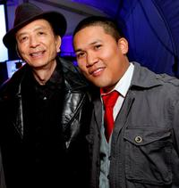 James Hong and Dante Basco at the ImaginAsian Center opening.