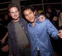AJ Buckley and Dante Basco at the premiere of
