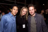 Dante Basco, Cassidy Rae and AJ Buckley at the premiere of