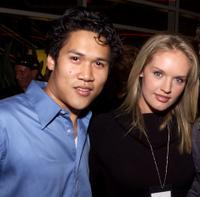 Dante Basco and Cassidy Rae at the premiere of