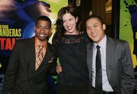 Marcus T. Paulk, director Liz Friedlander and Dante Basco at the screening of
