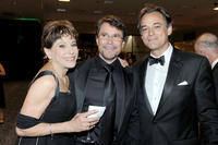 Louise Sorel, Peter Reckell and Jon Lindstrom at the 37th Annual Daytime Entertainment Emmy Awards.