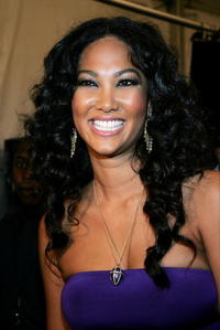 Kimora Lee Simmons at the Baby Phat by Kimora Lee Simmons Spring 2007 fashion show during Olympus Fashion Week in N.Y.