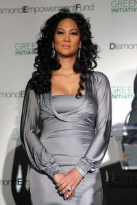 Kimora Lee Simmons at the Simmons Jewelry company press confrence to announce the major historic initiative in N.Y.
