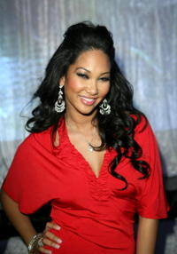 Kimora Lee Simmons hosts Belvedere Ultra Lounge in Las Vegas.