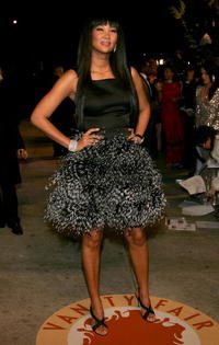 Kimora Lee Simmons at the 2007 Vanity Fair Oscar Party in West Hollywood.