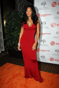 Kimora Lee Simmons at the 2007 AAFA American Image Awards in N.Y.