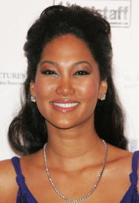 Kimora Lee Simmons at a party to promote