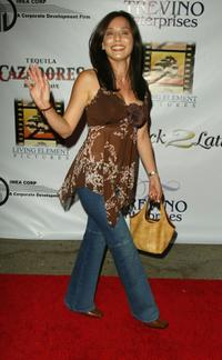 Jacqueline Pinol at the Post reception party for the Latin Grammys.