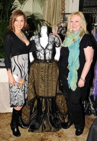 Jacqueline Pinol and Guest at the Pre-Golden Globes DPA Gifting Lounge.
