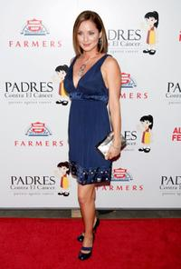 Jacqueline Pinol at the Padres Contra El Cancer's 8th Annual
