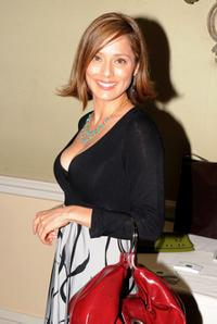 Jacqueline Pinol at the Pre-Golden Globes DPA Gifting Lounge.