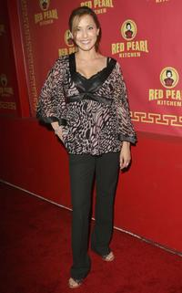 Jacqueline Pinol at the Grand opening of Red Pearl Kitchen Hollywood.