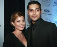 Jacqueline Pinol and Wilder Valderrama at the National Hispanic Foundation for the Arts 10th Anniversary Celebration.
