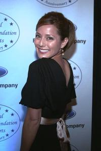 Jacqueline Pinol at the National Hispanic Foundation for the Arts 10th Anniversary Celebration.