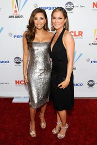 Eva Longoria and Jacqueline Pinol at the 2009 ALMA Awards.