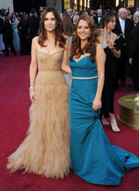 Kristen Wiig and Annie Mumolo at the 84th Annual Academy Awards.