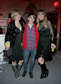 Barbie Brady, Chad Cunningham and Valerie Azlynn at the world premiere of