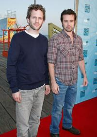 Glenn Howerton and Ron McElhenney at the FOX All-Star Party.