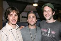 A.J Tesler, Producer Charlie Day and Glenn Howerton at the Independent TV Festival Screening of