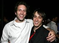 Glenn Howerton and A.J. Tesler at the Independent Television Festival Opening Night party.