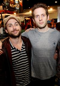 Charlie Day and Glenn Howerton at the Comic Con 2008.